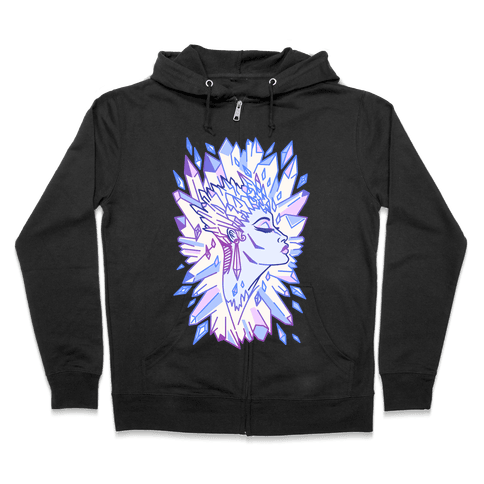 The Snow Queen Zip Hoodie