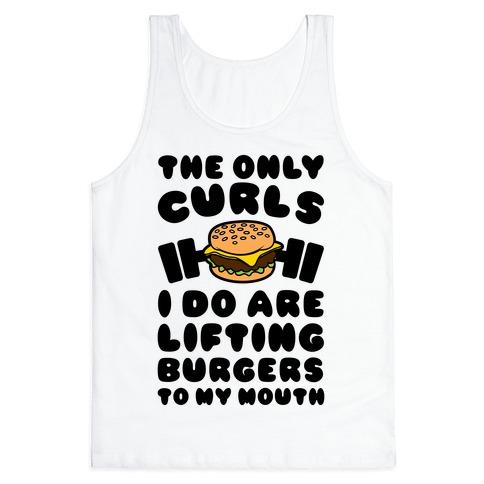 I Lift Burgers Tank Top
