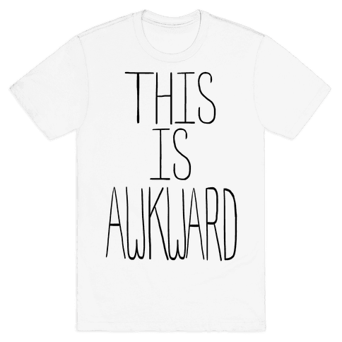 This is Awkward (tank) Mens T-Shirt