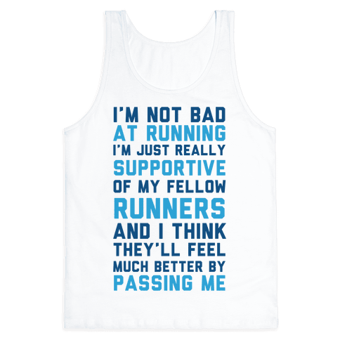 I'm Not Bad at Running