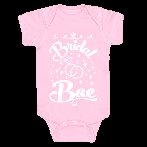 Bridal Bae Baby Onesy