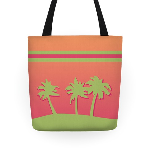 Palm Tree Tote Tote