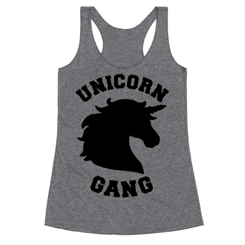 Unicorn Gang Racerback Tank Top