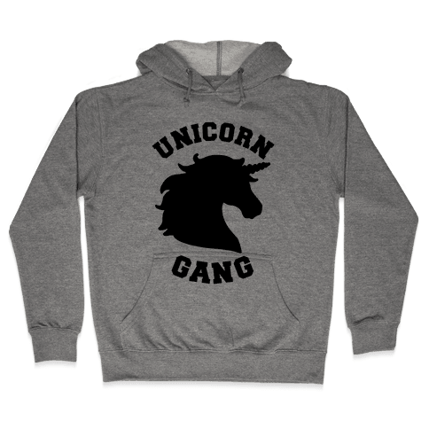 Unicorn Gang Hooded Sweatshirt