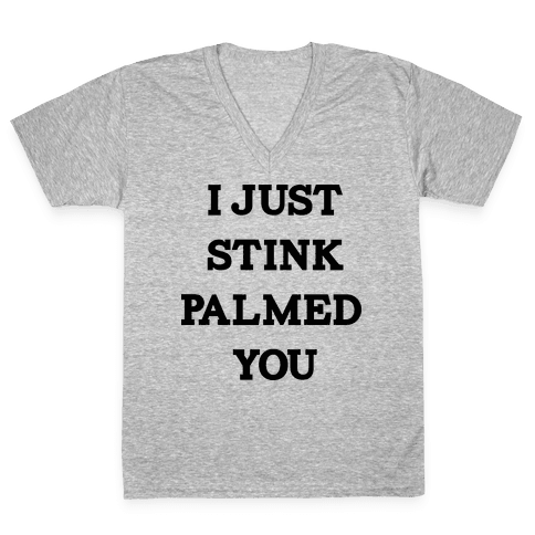 STINK PALM V-Neck Tee Shirt