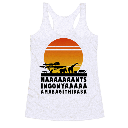 Circle of Life Racerback Tank Top