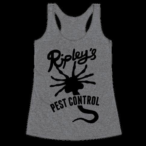 Ripley's Pest Control Racerback Tank Top