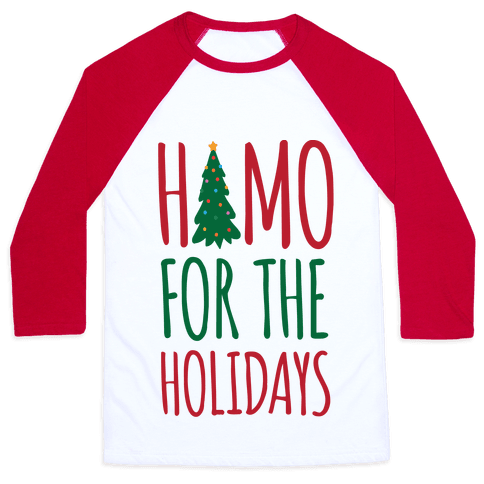 Homo For The Holidays Baseball Tee