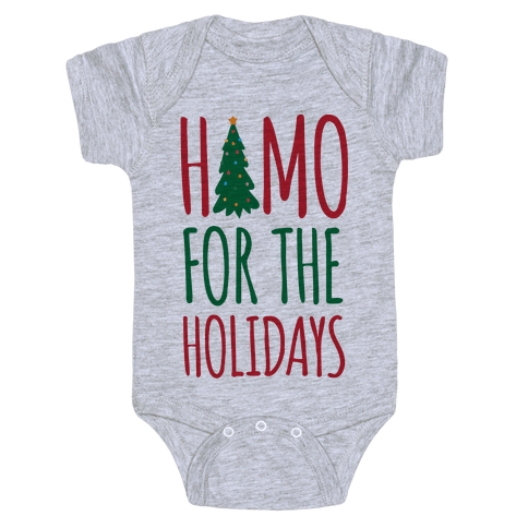 Homo For The Holidays Baby Onesy