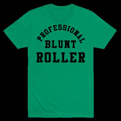 Professional Blunt Roller Mens T-Shirt
