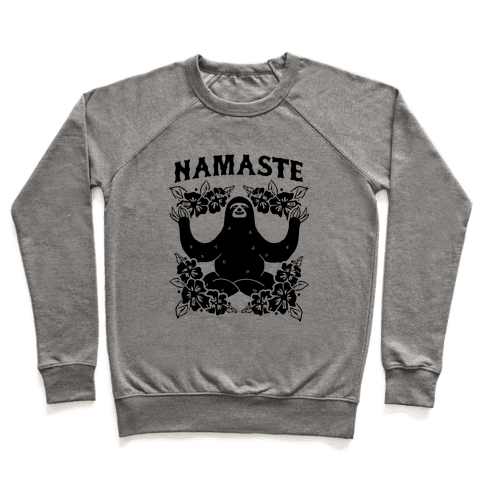Namaste Sloth Pullover