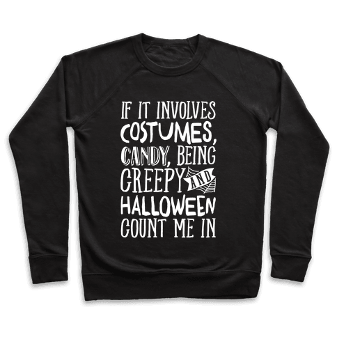 Halloween Count Me In Pullover