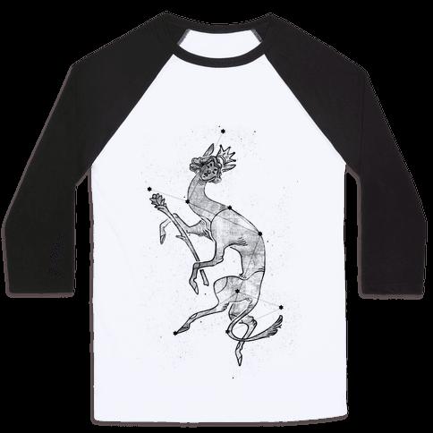 Deer God Stars Baseball Tee