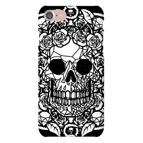 Punk Diamond Skull Phone Case