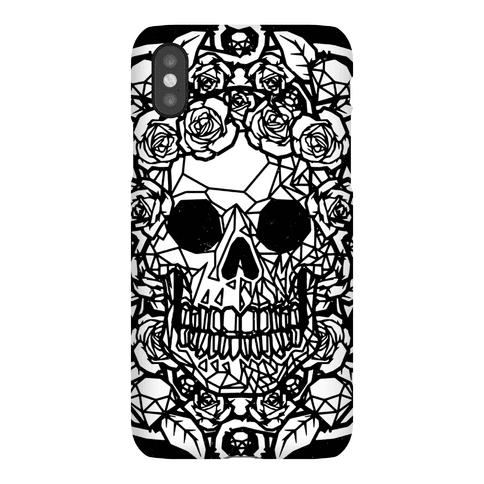 Punk Diamond Skull Phone Case