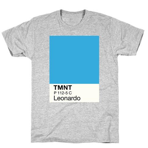 Leonardo Color Swatch Parody T-Shirt
