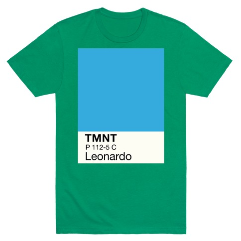 Leonardo Color Swatch Parody T-Shirt