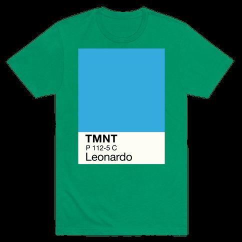 Leonardo Color Swatch Parody