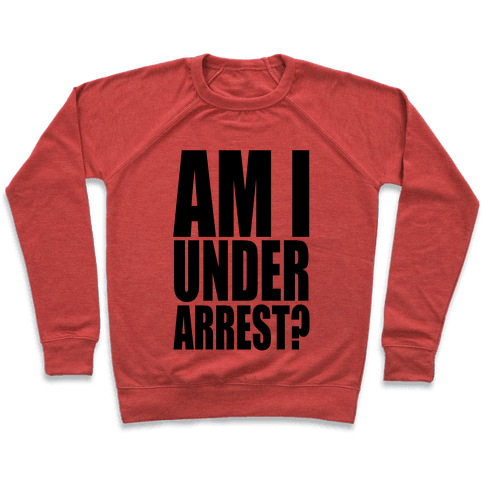 Am I Under Arrest? Pullover