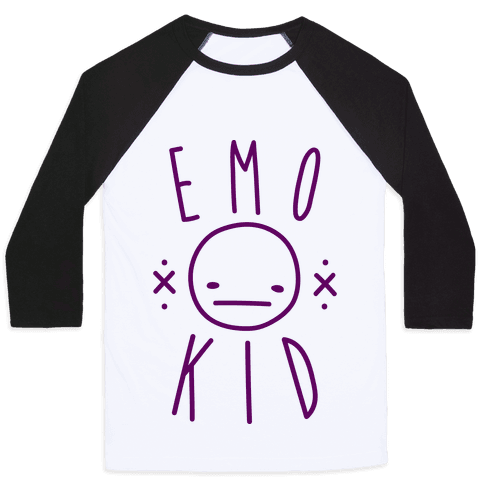 Emo Kid Baseball Tee