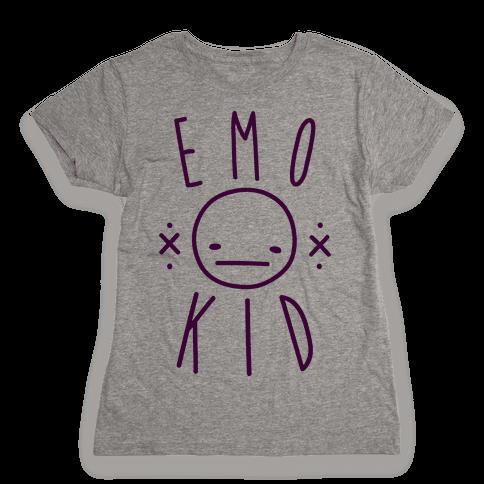 Emo Kid Womens T-Shirt