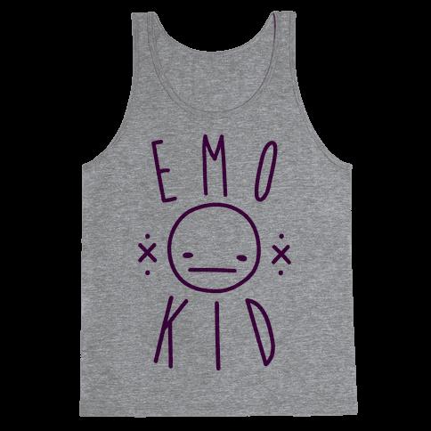 Emo Kid Tank Top
