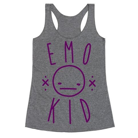 Emo Kid Racerback Tank Top