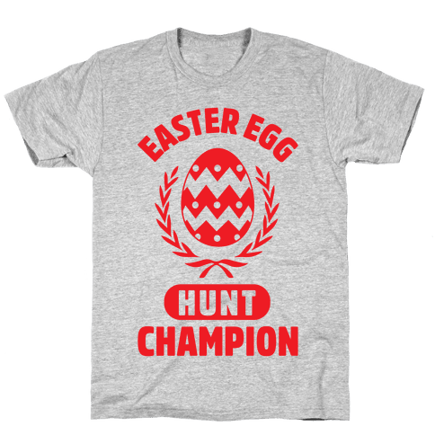 Easter Egg Hunt Champion Mens T-Shirt