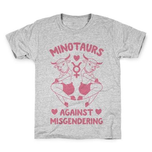 Minotaurs Against Misgendering Kids T-Shirt