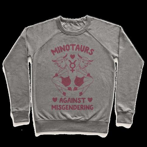 Minotaurs Against Misgendering Pullover