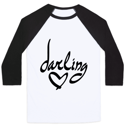 Darling Baseball Tee