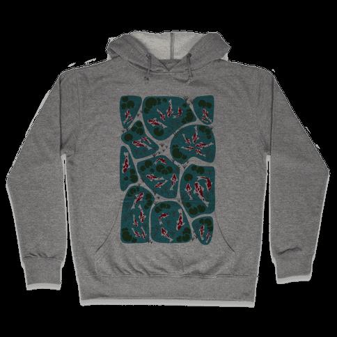 Koi Ponds Hooded Sweatshirt