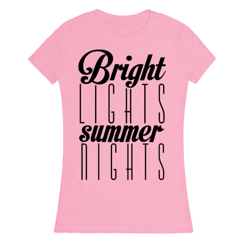 Summer Nights Womens T-Shirt