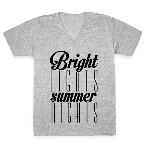 Summer Nights V-Neck Tee Shirt