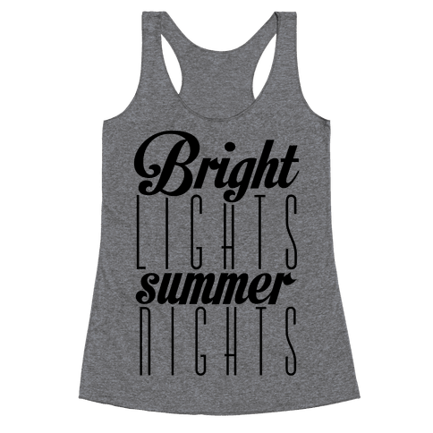 Summer Nights Racerback Tank Top