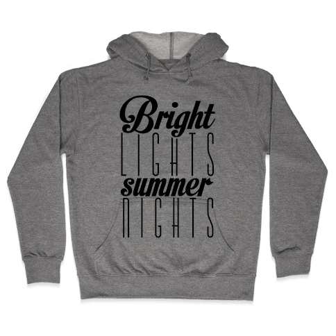 Summer Nights Hooded Sweatshirt