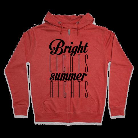 Summer Nights Zip Hoodie