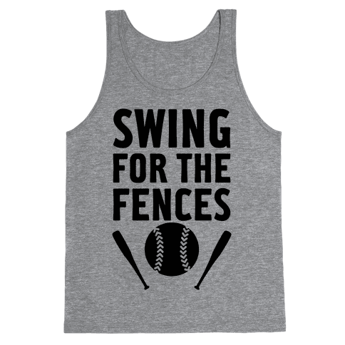 Swing For The Fences Tank Top