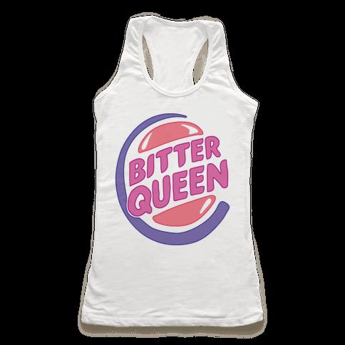 Bitter Queen Parody Racerback Tank Top