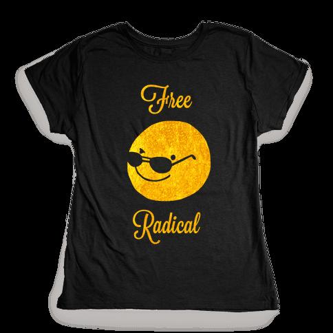 Free Radical Womens T-Shirt