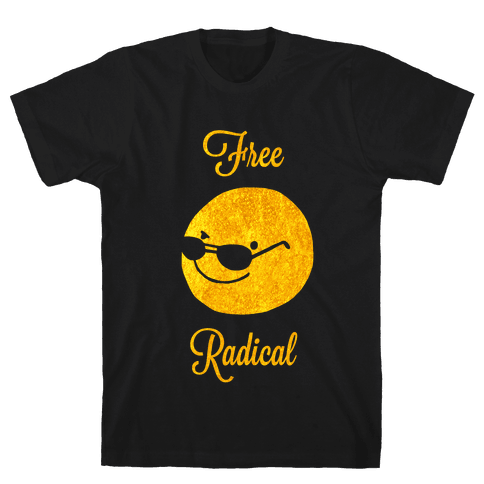 Free Radical Mens T-Shirt