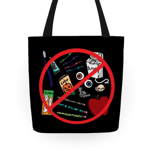 No Healthy Snacks Tote