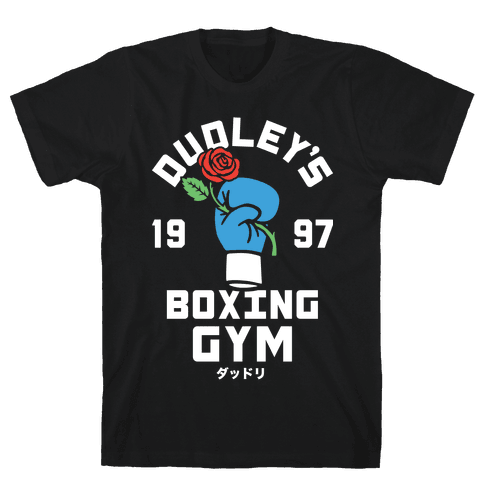 Dudley's Boxing Gym Mens T-Shirt