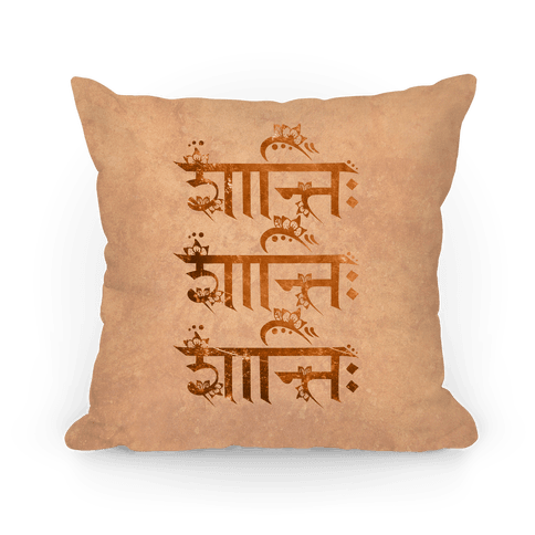 Shanti Shanti Shanti Pillow
