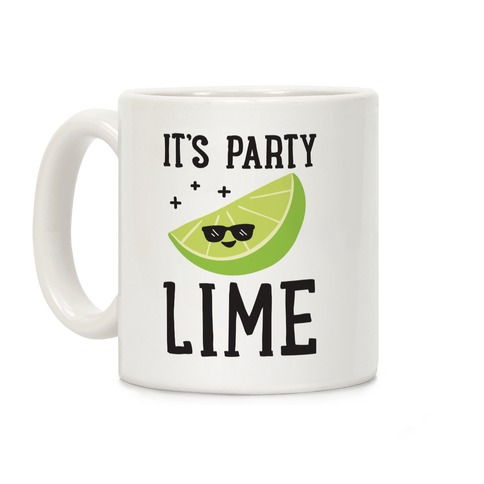 It's Party Lime Coffee Mug