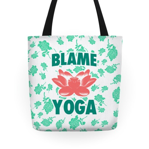 Blame Yoga