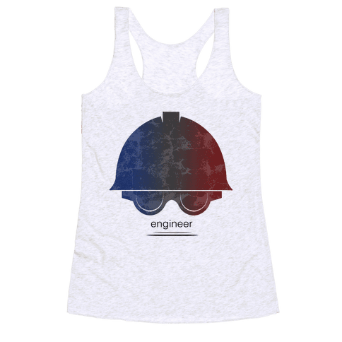 Team Fortress 2 (Engineer) Racerback Tank Top