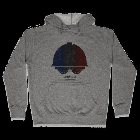 Team Fortress 2 (Engineer) Hooded Sweatshirt