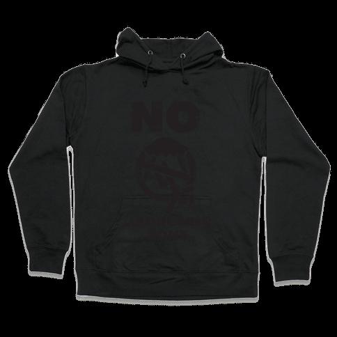 No Abducting Zone (yellow) Hooded Sweatshirt