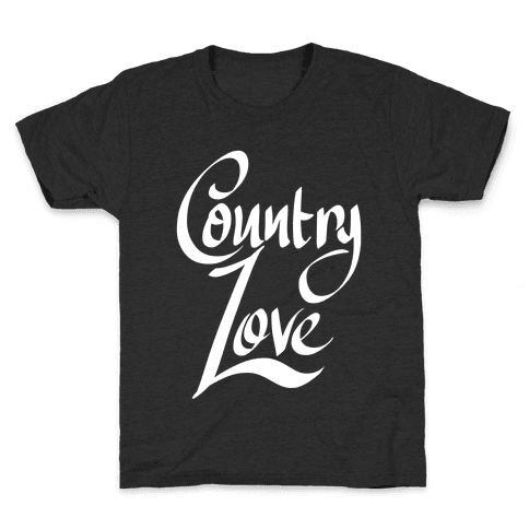 Country Love Kids T-Shirt